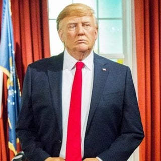Waxwork of Donald Trump Unveiled