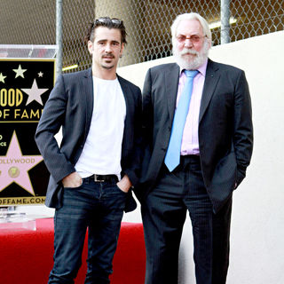 Colin Farrell, Donald Sutherland in Donald Sutherland Receives The 2,430th Star on The Hollywood Walk of Fame