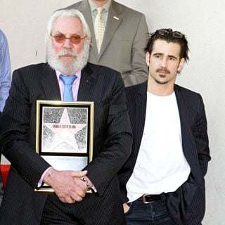 Colin Farrell - Donald Sutherland Receives The 2,430th Star on The Hollywood Walk of Fame