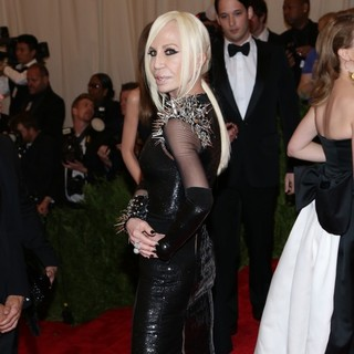 Donatella Versace in PUNK: Chaos to Couture Costume Institute Gala