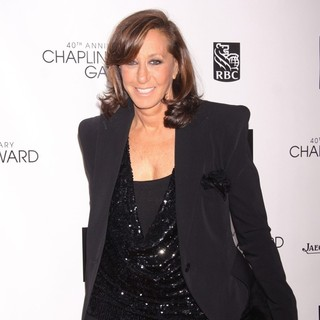 Donna Karan in 40th Anniversary Chaplin Award Gala Honoring Barbra Streisand