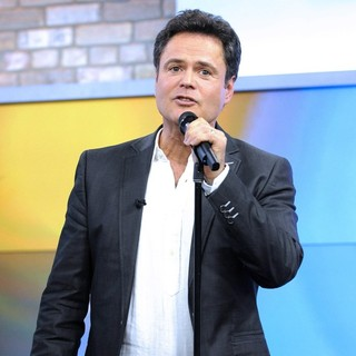 Donny Osmond in Donny Osmond Appearing on CTV's Marilyn Denis Show