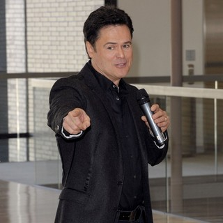 Donny Osmond in Dancap Productions Press Conference