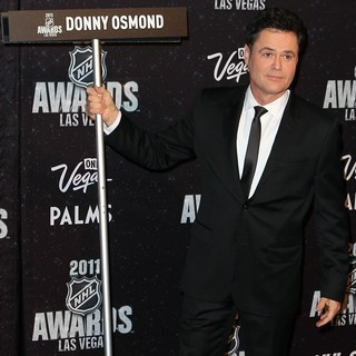 Donny Osmond in The NHL Awards 2011 - Arrivals