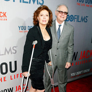 Susan Sarandon, Barry Levinson in Premiere of HBO Films' 'You Don't Know Jack'