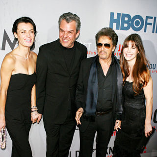 Danny Huston, Lucila Sola, Al Pacino in Premiere of HBO Films' 'You Don't Know Jack'