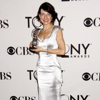 Donyale Werle in The 66th Annual Tony Awards - Press Room
