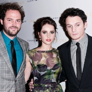 Drake Doremus, Felicity Jones, Anton Yelchin in The New York Premiere of Like Crazy