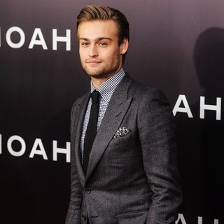 Douglas Booth in Noah New York Premiere