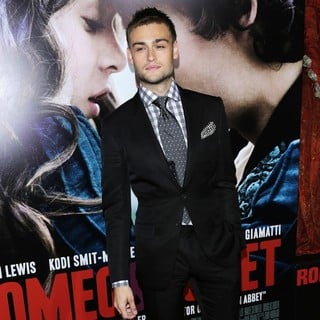 Douglas Booth in Premiere of Relativity Media's Romeo and Juliet