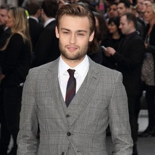 Douglas Booth in U.K. Premiere of Noah - Arrivals