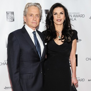 Michael Douglas in 40th Anniversary Chaplin Award Gala Honoring Barbra Streisand - douglas-jones-40th-anniversary-chaplin-award-gala-02