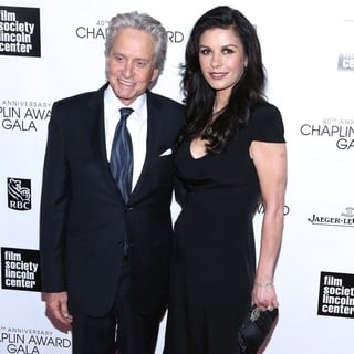 Michael Douglas in 40th Anniversary Chaplin Award Gala Honoring Barbra Streisand - douglas-jones-40th-anniversary-chaplin-award-gala-03