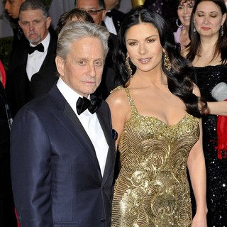 Michael Douglas in The 85th Annual Oscars - Red Carpet Arrivals - douglas-jones-85th-annual-oscars-02
