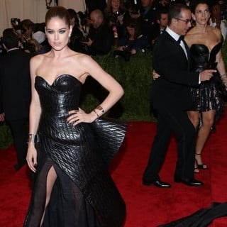 Doutzen Kroes in PUNK: Chaos to Couture Costume Institute Gala