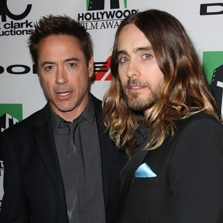 Robert Downey Jr., Jared Leto in The 17th Annual Hollywood Film Awards