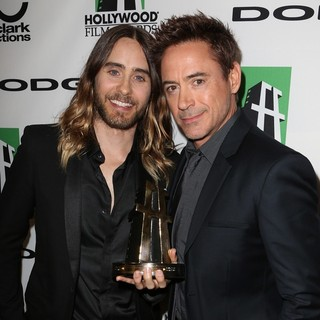 Jared Leto, Robert Downey Jr. in The 17th Annual Hollywood Film Awards