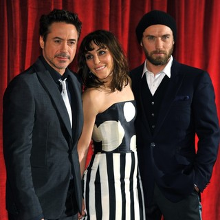 Robert Downey Jr., Noomi Rapace, Jude Law in Sherlock Holmes: A Game of Shadows Premiere - Arrivals