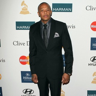 Dr. Dre in Clive Davis And The Recording Academy's 2012 Pre-GRAMMY Gala