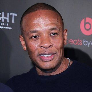 Dr. Dre in Beats by Dre Celebrates CES with After Party