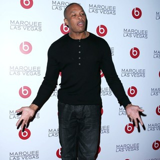 Dr. Dre in Beats by Dr. Dre Celebrate CES with An After-Party