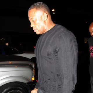 Dr. Dre in Dr. Dre Outside BOA Steakhouse