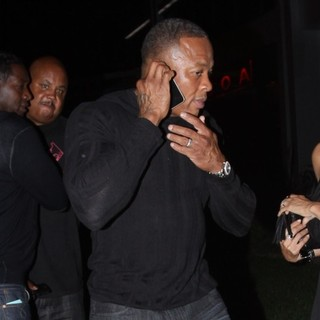 Dr. Dre Outside BOA Steakhouse