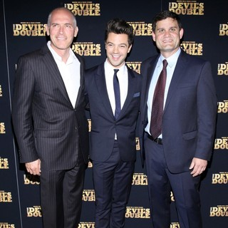 Joe Drake, Dominic Cooper, Jason Constantine in The New York Premiere of The Devil's Double