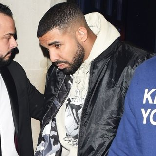 Rihanna and Drake Leaving Tramps Nightclub
