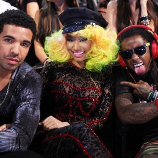 Drake, Nicki Minaj, Lil Wayne in 2012 MTV Video Music Awards - Show