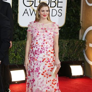 Drew Barrymore in 71st Annual Golden Globe Awards - Arrivals