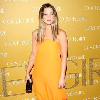Drew Barrymore in COVERGIRL Celebrate Their 50th Anniversary