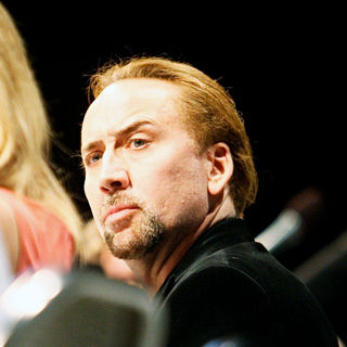 Nicolas Cage in Comic Con 2010 - Day 2 - 'Drive Angry 3D' Press Conference