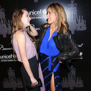 Madelaine West Duchovny, Tea Leoni in The U.S. Fund for UNICEF Hosts Its Ninth Annual UNICEF Snowflake Ball