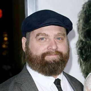 Zach Galifianakis in Los Angeles Premiere of 'Due Date'