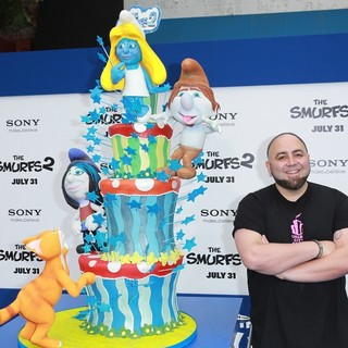 The Los Angeles Premiere of The Smurfs 2 - Arrivals - duff-goldman-premiere-the-smurfs-2-01