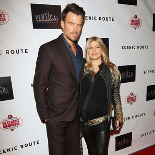 Josh Duhamel, Stacy Ferguson in Los Angeles Premiere of Scenic Route