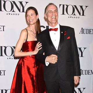Hayley DuMond, Keith Carradine in The 67th Annual Tony Awards - Arrivals