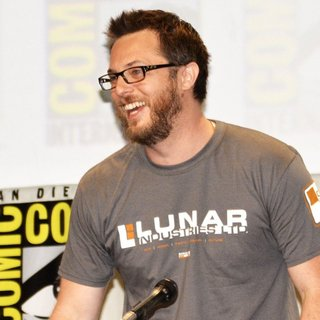 Duncan Jones in San Diego Comic-Con International 2014 - Legendary Pictures Panel Press Conference