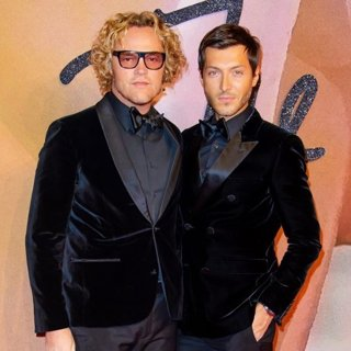 Peter Dundas, Evangelo Bousis-The Fashion Awards 2016 - Arrivals