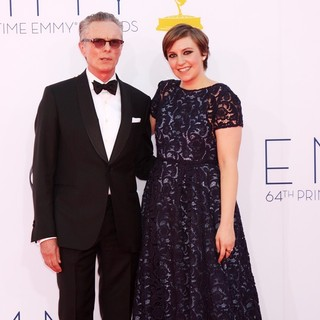 Carroll Dunham, Lena Dunham in 64th Annual Primetime Emmy Awards - Arrivals