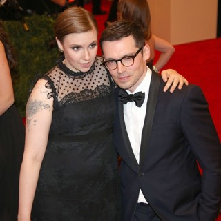 Lena Dunham in PUNK: Chaos to Couture Costume Institute Gala - dunham-moralioglu-chaos-to-couture-costume-institute-gala-01