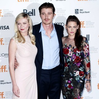 Kirsten Dunst, Garrett Hedlund, Kristen Stewart in 2012 Toronto Film Festival - On the Road - Premiere