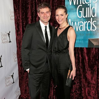Mark Duplass in 2013 Writers Guild Awards - Arrivals - duplass-aselton-2013-writers-guild-awards-06