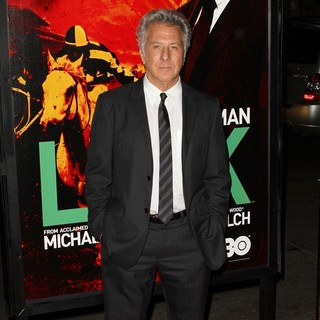 Dustin Hoffman in HBO's Luck Los Angeles Premiere - dustin-hoffman-premiere-luck-04