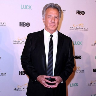 Dustin Hoffman in Mandalay Bay Resort and Casino Hosts An Advanced Screening of New HBO Original Series LUCK - dustin-hoffman-screening-luck-03