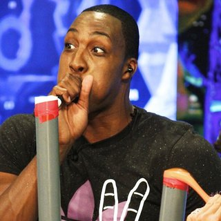Dwight Howard in NBA Player for The Orlando Magic Appearing on Spanish Television Show El Hormiguero - dwight-howard-appearing-on-el-hormiguero-01