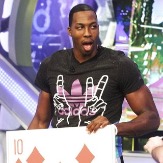 Dwight Howard in NBA Player for The Orlando Magic Appearing on Spanish Television Show El Hormiguero - dwight-howard-appearing-on-el-hormiguero-05