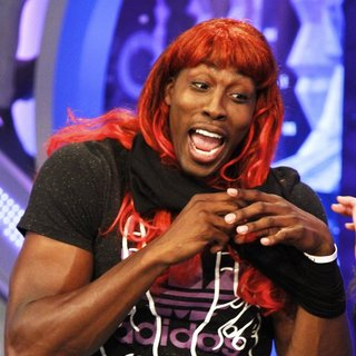 Dwight Howard in NBA Player for The Orlando Magic Appearing on Spanish Television Show El Hormiguero - dwight-howard-appearing-on-el-hormiguero-13