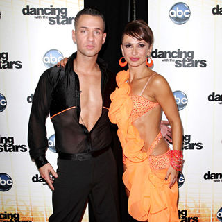 The Situation, Karina Smirnoff in 'Dancing with the Stars' Season 11 Premiere - Arrivals